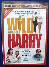 Wild About Harry  Brendan Gleeson DVD Region 2 PAL US Ship EX-RENTAL