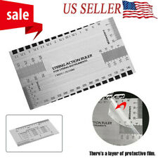 String Gauge Action Ruler Guide Tool Measuring for Electric Guitar Bass Usa