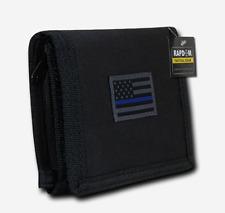 Rapdom Men's Wallet Tactical Non Stick ID Window 18 Compartment/Pocket