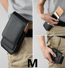 iPhone 6S 7 / 8 / X - Leather Pouch Holder Belt Clip Loop Holster Card Slot Case