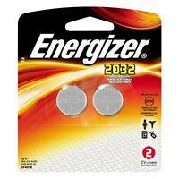 Energizer 2032 3V Lithium Battery 2-Pack