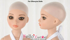 "☆╮Cool Cat╭☆【S】6~7"" New Soft Silicone Sheath Wig Cap For Ellowyne Dolls"