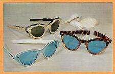 Advertising Postcard - Retro Sunglasses Purdy Optician New York