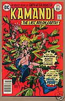 KAMANDI, LAST BOY ON EARTH #49, DC Comics 1977, VF