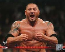 WWE BATISTA OFFICIAL 8X10 LICENSED GLOSSY PHOTOFILE PIC