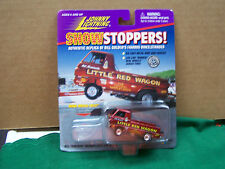 1997 Johnny Lightning Show Stoppers Bill Maverick's Little Red Wagon  MOC  Nice