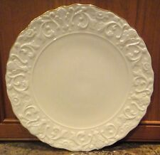 "Lenox Decorative Large Plate Scallop Edges w/ Gold Edge Trim 11.50"" Diameter"