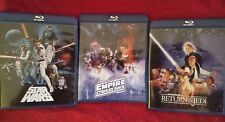 star wars holy Trinity despecialized blu ray set