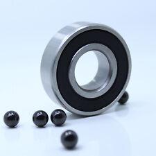 6305-2RS ( 25x62x17mm) Hybrid Ceramic Bearing Si3N4 Rubber Ball Bearings 6305RS