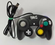 Black Nintendo Gamecube Controller Under Control Joypad Game Pad