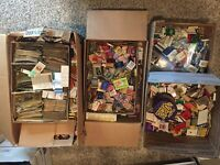 100 Mixed Vintage Matchbook Covers Mostly 1930s to 70s Various Variety Bag lot