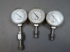 New listing Lot of 3 Pacific Scientific Gauge 0-30 Psig