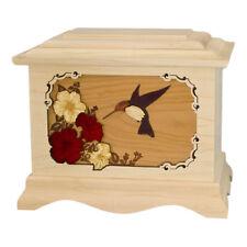 Wood Cremation Urn (Wooden Urns) - Maple Hummingbird Ambassador