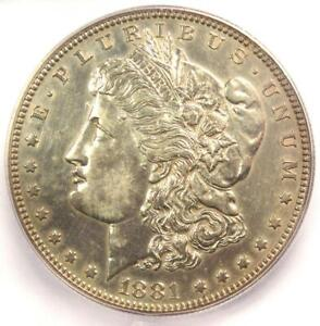 1881 PROOF Morgan Silver Dollar $1 - ICG Proof Detail (PF PR) - Rare Proof Coin!