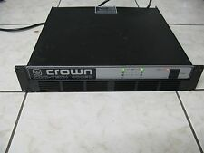 CROWN COM-TECH 400SD 2-CH  AUDIO STEREO POWER AMPLIFIER AMP SPECIAL DISNEY