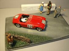 5  FIGURINES 1/43  SET 394  LE  MANS  CLASSIC  VROOM  A  PEINDRE   UNPAINTED
