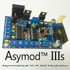 ASYMOD IIIs ASYMMETRICAL Hi-Fi AM MODULATOR FOR CB & HAM RADIO