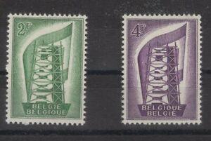 BELGIE, BELGIQUE, BELGIUM STAMPS, 1956, Mi. 1043-1044 **.