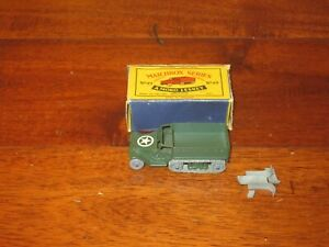 Matchbox Moko Lesney M3 Personnel Carrier 49 W/ ORIGINAL BOX