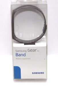 New Original Samsung Grey Plastic Band Replacement for Gear Fit Smartwatch