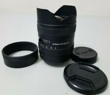 Sigma DC 8-16mm f/4.5-5.6 HSM DC Lens For Nikon SLR DSLR Camera *GOOD*