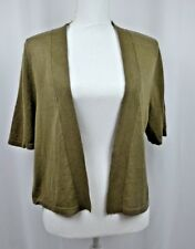 Lane Bryant Womens Shrug Cardigan Sweater Brown/Green Size 14/16 New Without Tag