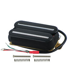 Black Color Dual Hot Rail Electric Guitar Pickup Double Coil Humbucker Pickup