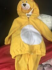 Carters Baby Fleece Lion Halloween Costume. Size 6-9 Months. New With Tags