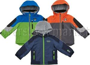 LONDON FOG BOYS FLEECE LINED LIGHT TO MIDWEIGHT HOODED JACKET! VARIETY STYLES!