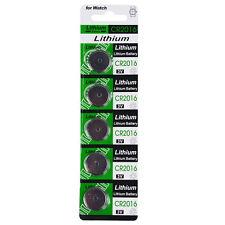 5PCS/Pack CR2016 3V Batteries CR 2016 DL2016 ECR2016 3V Button Coin Cell Battery