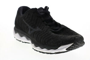 Mizuno Wave Sky FLVR916B025 Womens Black Mesh Lace Up Athletic Running Shoes 8