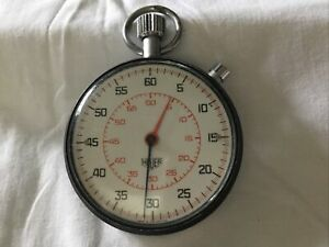 Vintage Tag Heuer Stopwatch Working