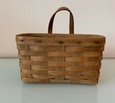 Vintage Longaberger 1984 Medium Key Basket