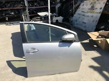 2012 2013 2014 2015 2016 2017 TOYOTA PRIUS C RIGHT FRONT DOOR COMPLETE SILVER
