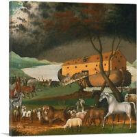 ARTCANVAS Noah's Ark 1846 Canvas Art Print by Edward Hicks