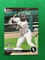 2020 Topps Now #204 LUIS ROBERT RC Named AL Rookie of the Month White Sox ROTM