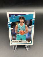 Nick Richards (Hornets) 2020-21 Panini Donruss 💎Rated Rookie💎 RC