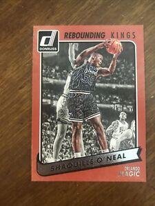2015-16 Donruss Rebounding Kings #13 Shaquille O'Neal Orlando Magic