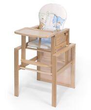 "Kombi-Hochstuhl %7c ""OSKAR"" %7c BUCHE %7c umbaubar zur Stuhl-Tisch Kombination"