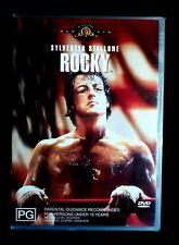ROCKY : DVD 1976 Sports Drama Movie. SYLVESTER STALLONE, TALIA SHIRE, BURT YOUNG