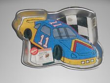 WILTON Race Car NASCAR Cake Decorating Party PAN Instructions #2105-1350 Retired