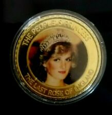 ENGLAND COMMEMORATIVE COINS OF LADY DIANA-PRINCES OF WALES (1961-1997)  COIN # 2