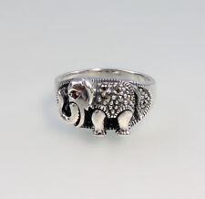 9927111 925 argent markasit-ring éléphant taille 56