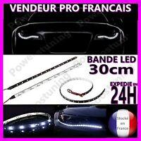BANDE A LED SMD BANDEAU RUBAN EN XENON A COLLER AUTOCOLLANTE 12V POUR VOITURE