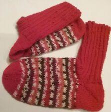 Wollsocken, Stricksocken, selbstgestrickte Socken, 4-fach, Gr. 36-37