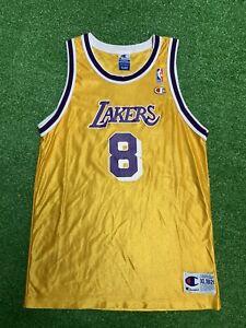 Vintage Rare Kobe Bryant Champion Lakers Jersey Black Mamba Youth XL 18-20