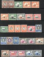 1938 KUT Sg 131/150a Definitive Set of 30 Values Mounted Mint