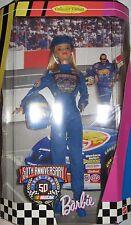BARBIE COLLECTOR NRFB NASCAR 50TH ANNIVERSARY PERFETTA NUOVA