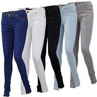 Womens Ladies G-72 Zip Fly Stretch Skinny Slim Fit Denim Jeans Cotton Pants