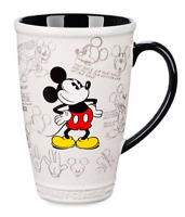 DISNEY CLASSIC - MICKEY MOUSE LATTE MUG - 20 OUNCE - NEW